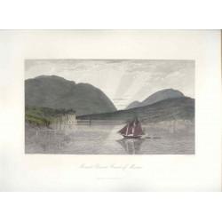 Estados Unidos. «Mount Desert Coast of Maine» Dibujó Harry Fenn (1845-1911). Grabó Robert Hinshelwood (1812-)