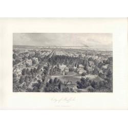 Estados Unidos. «City of Buffalo» Dibujó A.C. Warren(1819-1904). Grabó Wellstod ()