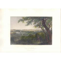 Estados Unidos. «City of Baltimore» Dibujó G. Perkins (1830-1895). Grabó Robert Hinshelwood (1812-)