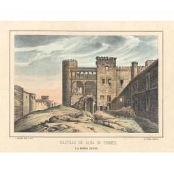 España. Salamanca. «Castillo de Alba de Tormes»