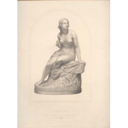 Sabrina' Engraved by A.R.Arlett from a statue in marble  by W. Calder Marshall