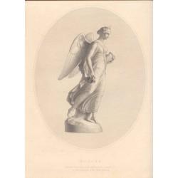 Aurora grabado por W. Roffe sobre una estatua de J-Gibson.