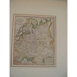 Karte des Europaeischen Russland edited in Augsburg bei Joh Walch en 1812