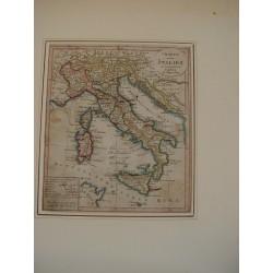 Charte von Italien edited Augsburg bei Johannes Walch