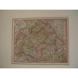 Charte vom Koenigreich Baiern Wurtemberg u Baden Augsburg bei Joahnnes Walch