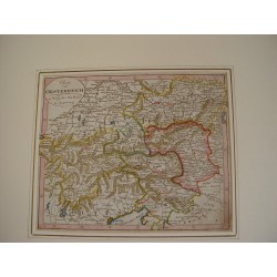 Charte von Oesterreich bei Joh Walch 1812