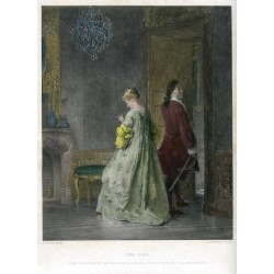 The tiff' Engraving coloured por P. Lightfood after P. Korle en 1879