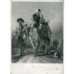 The way-side in andalusia' Engraved by C. Cousen after R. Ansdell