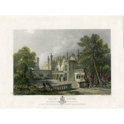Inglaterra. «E- Whurst Factory' engraved by Shury sobre obra de McEven en1840