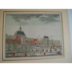 Amsterdam. 'The Uytrechtze poort' grabado realizado en 1760