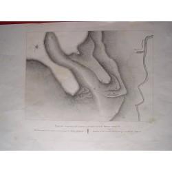 España. Barcelona. «Situación del Convento y de las Ermitas de Montserrat» Alexandre Laborde (1810-11)