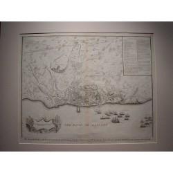 España. «Plano de la ciudad y castillo de Alicante en 1708-09».