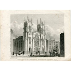 «New national scotch church sSdmouth st. grays inn road» by Thomas Shefherd 1829