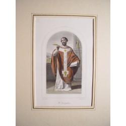 Arte religioso. «San Agustín»